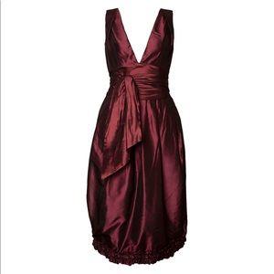 Vera Wang Keira Knightley Plum Dress